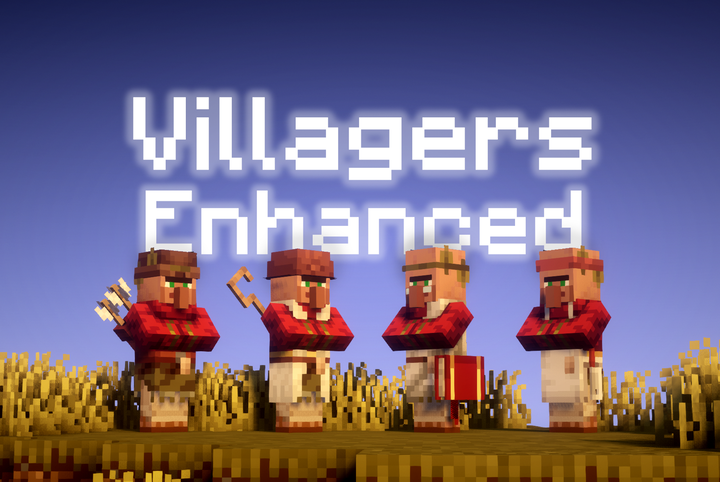 Villagers Enhanced Resource Pack