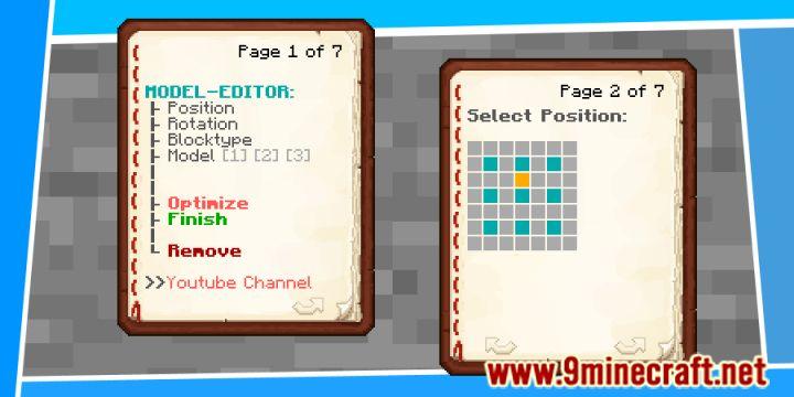 3D Model Editor Data Pack Recipes (2)