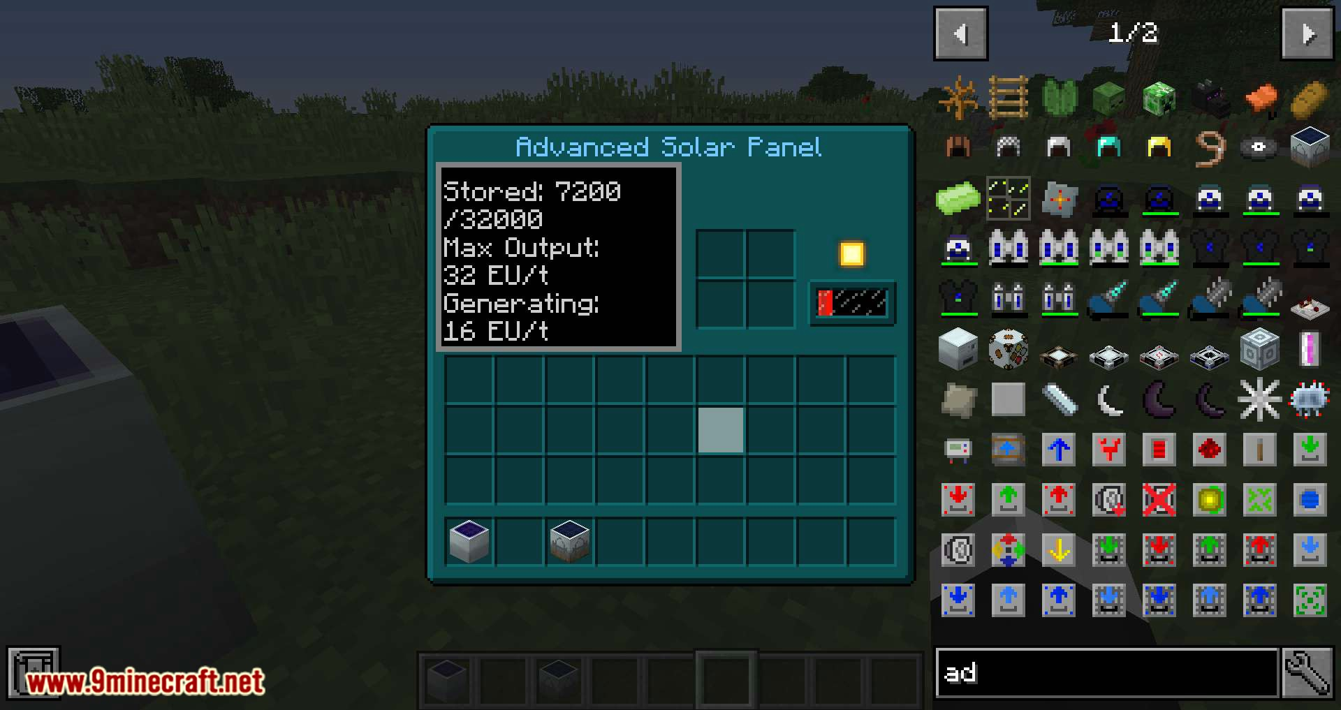 Advanced Solars Classic mod for minecraft 03