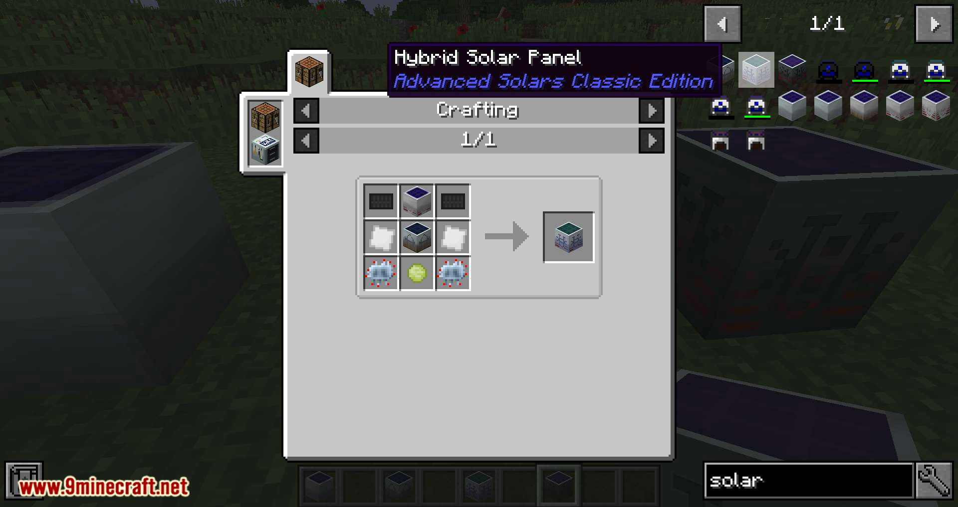 Advanced Solars Classic mod for minecraft 08