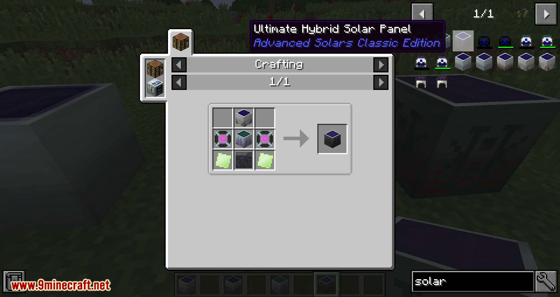 Advanced Solars Classic mod for minecraft 09