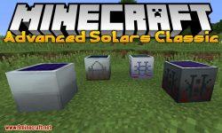 Advanced Solars Classic mod for minecraft logo