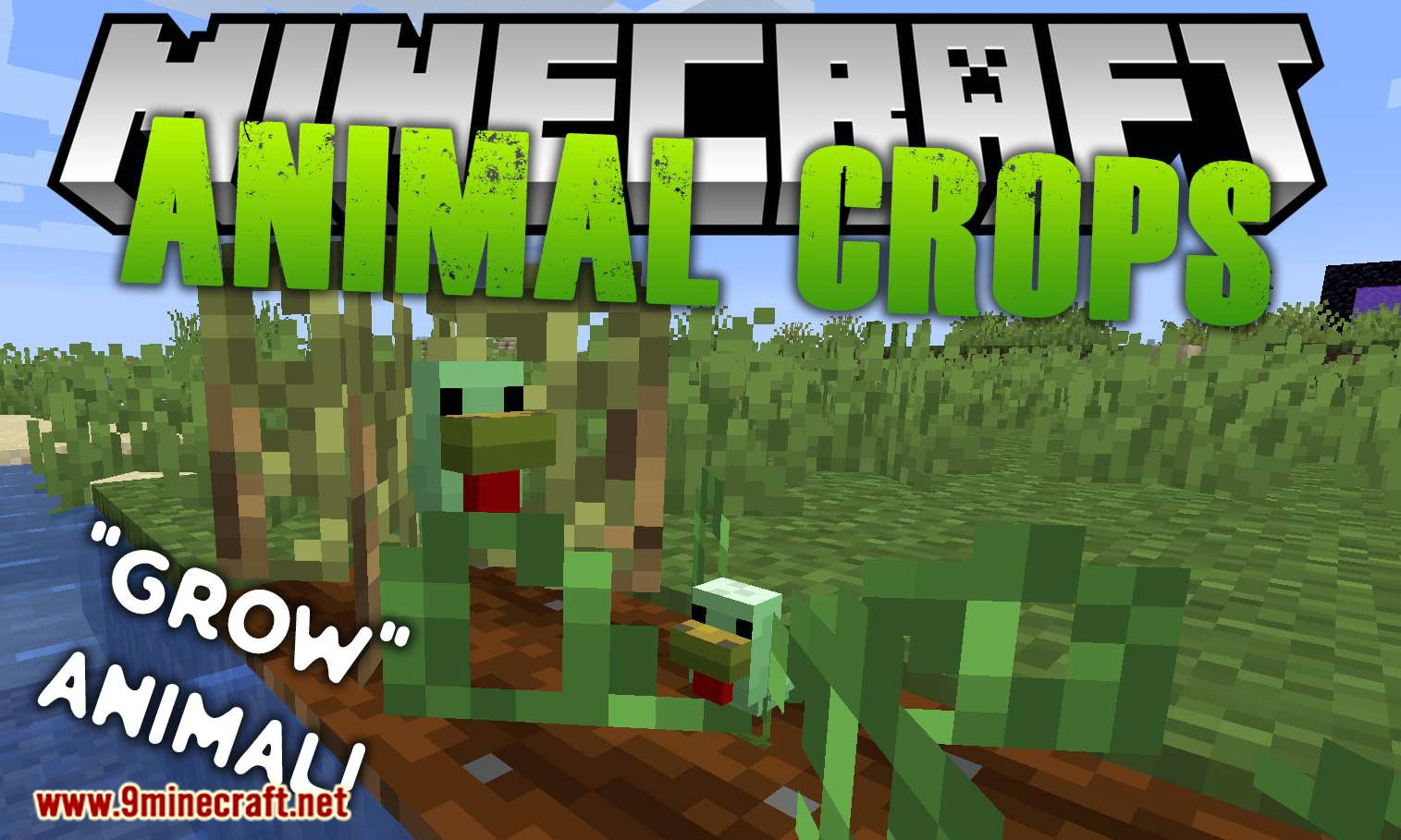 Animal Crops mod for minecraft logo