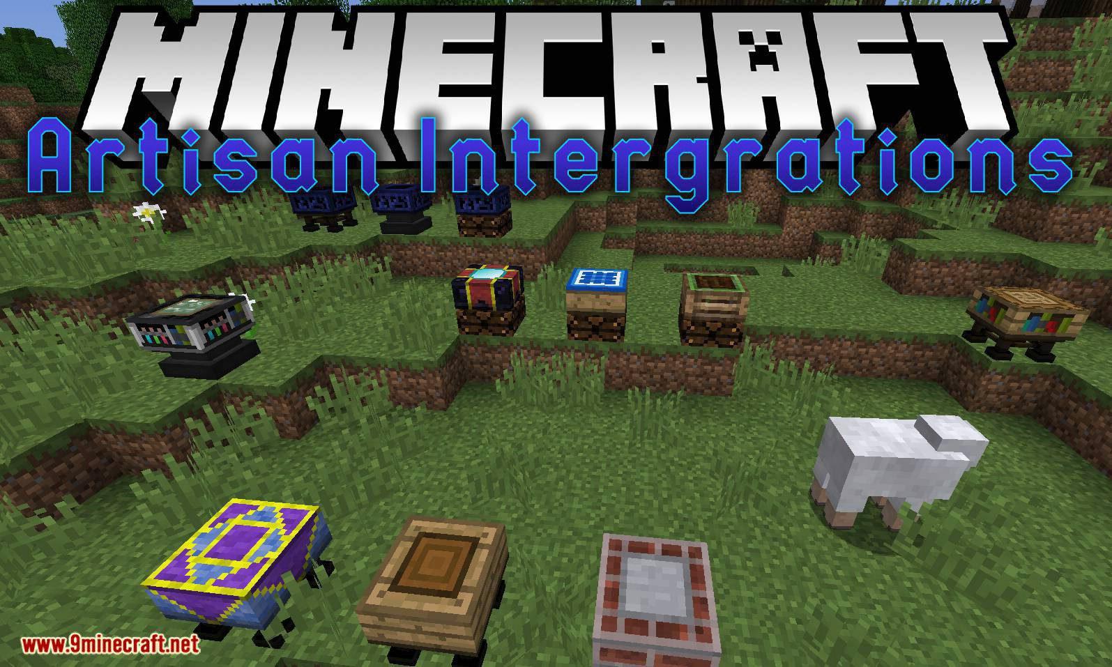 Artisan Intergrations mod for minecraft logo