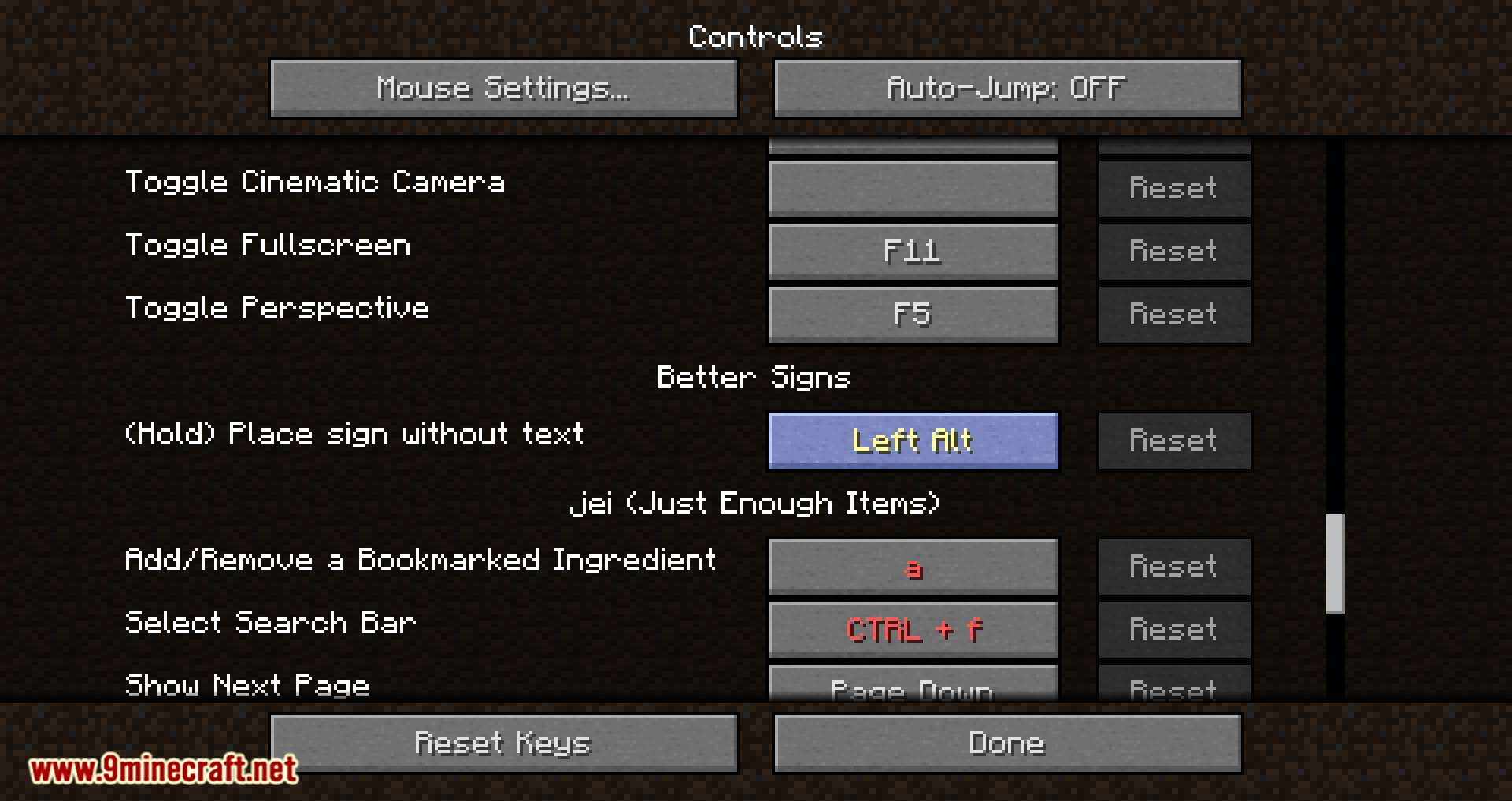 Better Signs mod for minecraft 07
