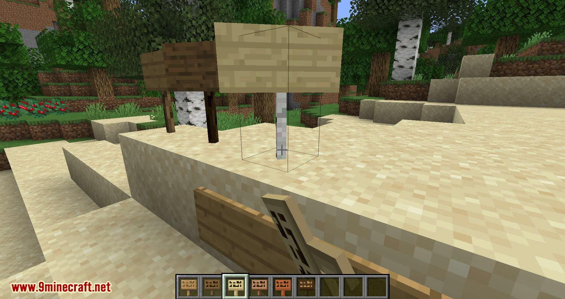 Better Signs mod for minecraft 10
