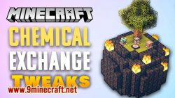 Chemical Exchange Tweaks mod for minecraft logo