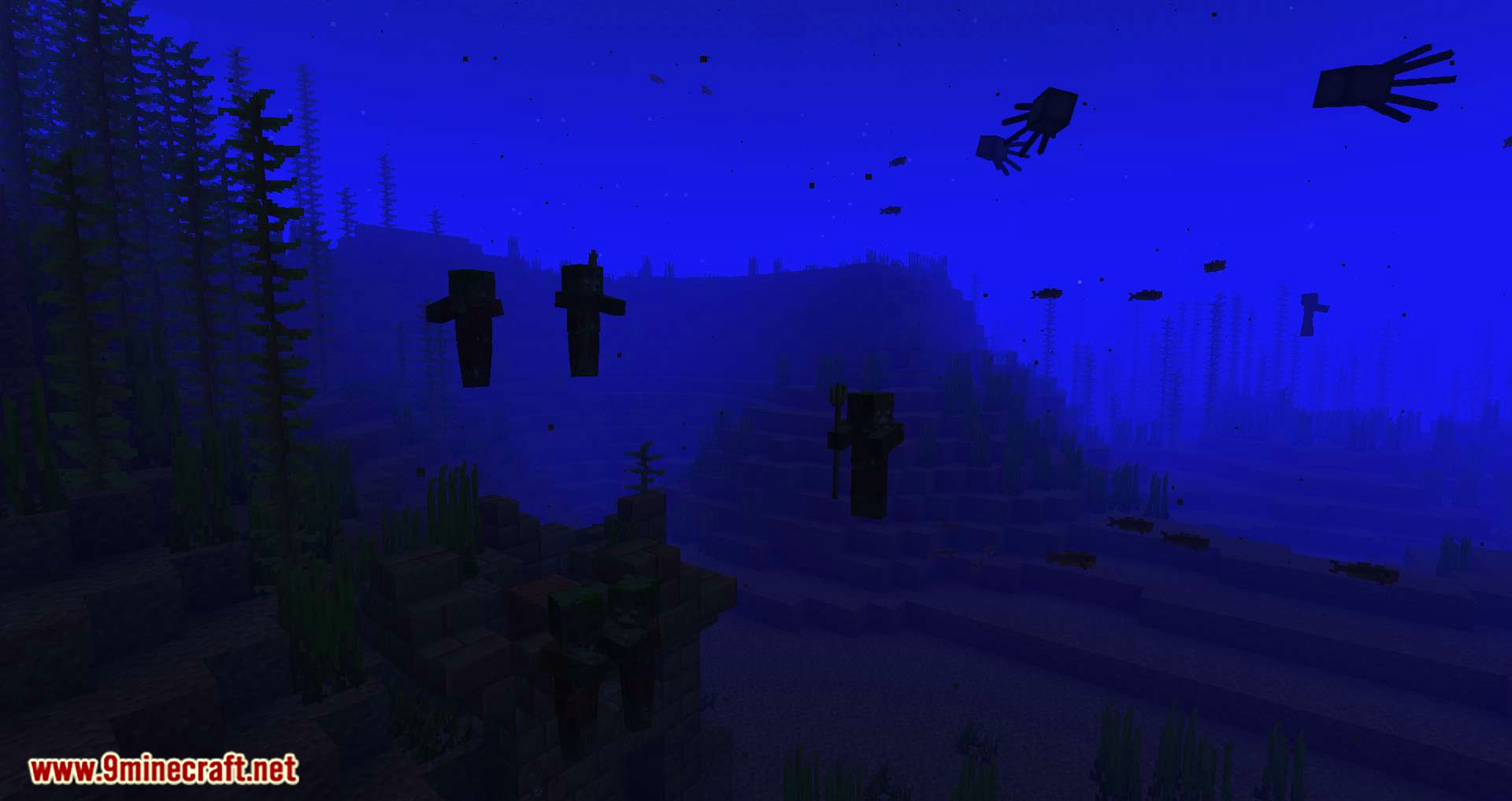 Conduits Prevent Drowned mod for minecraft 07