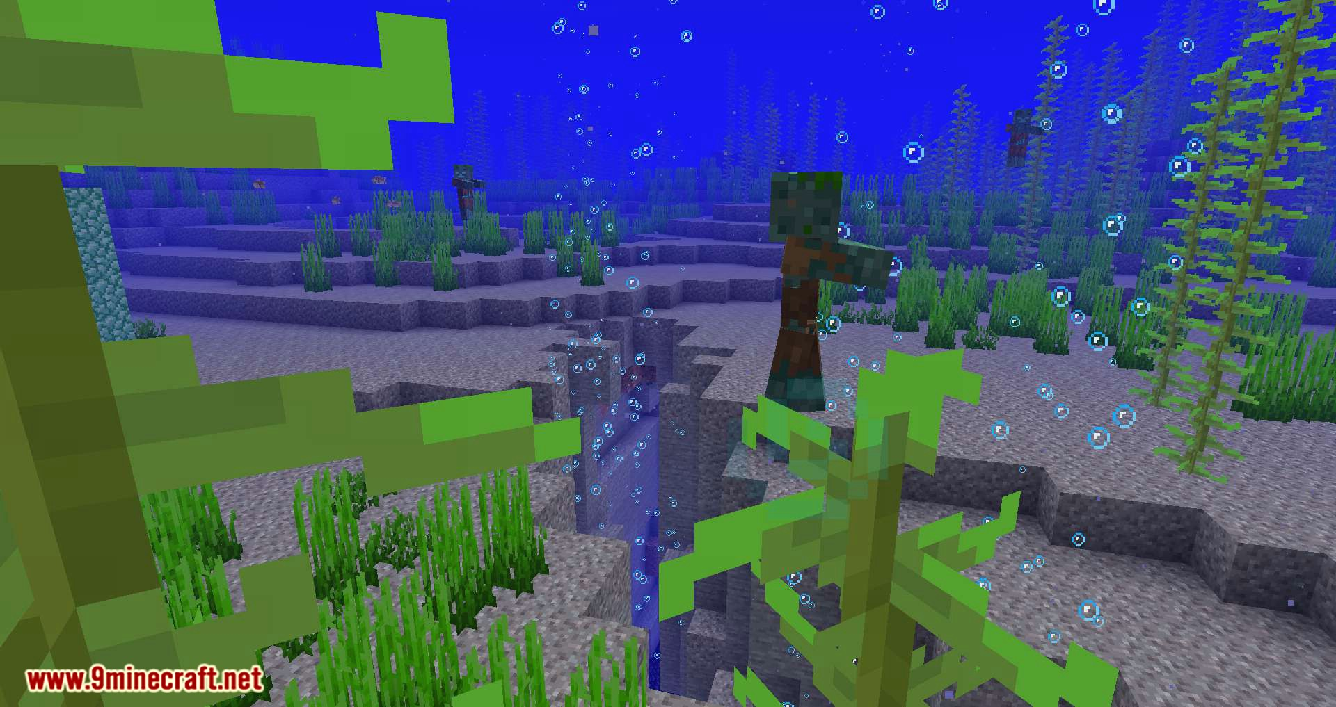 Conduits Prevent Drowned mod for minecraft 09