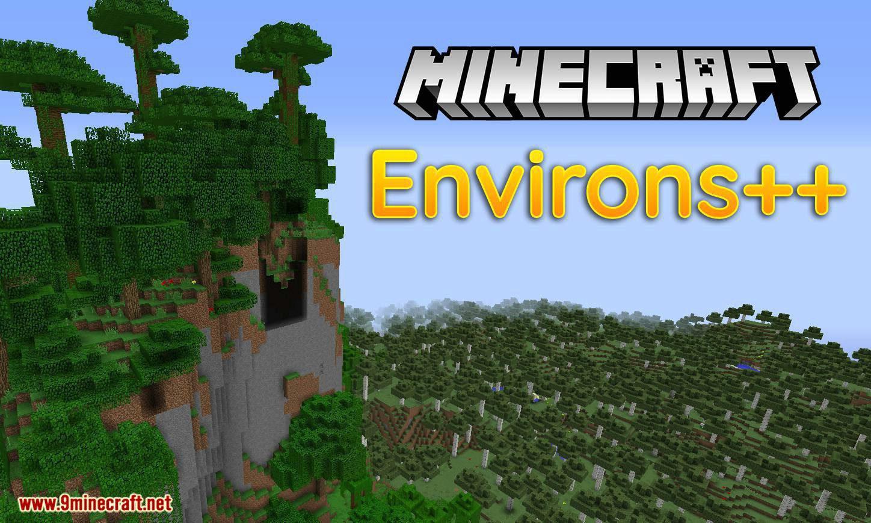 Environs++ mod for minecraft logo