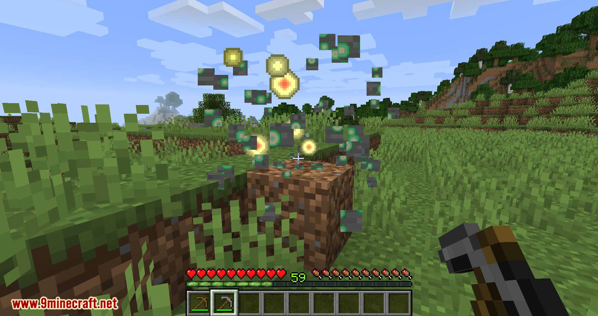 Exp Ore mod for minecraft 10