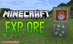 Exp Ore mod for minecraft logo