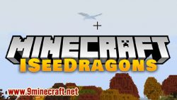 ISeeDragons mod for minecraft logo
