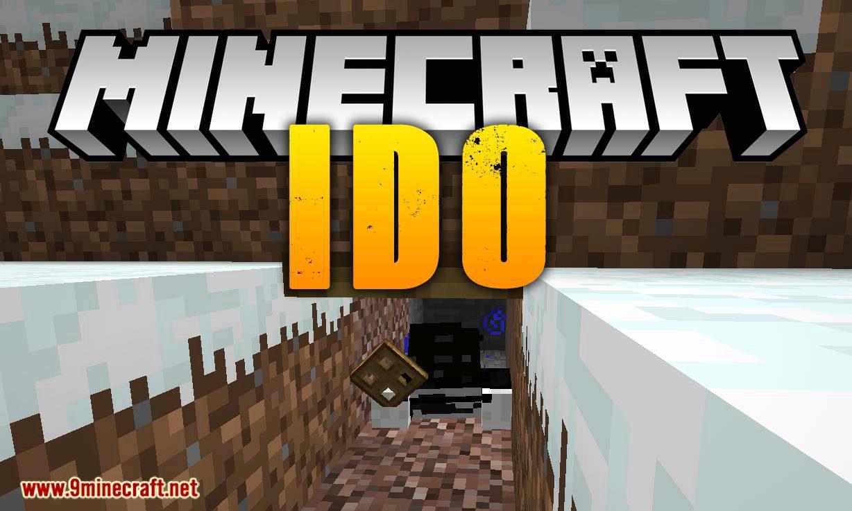 Ido mod for minecraft logo