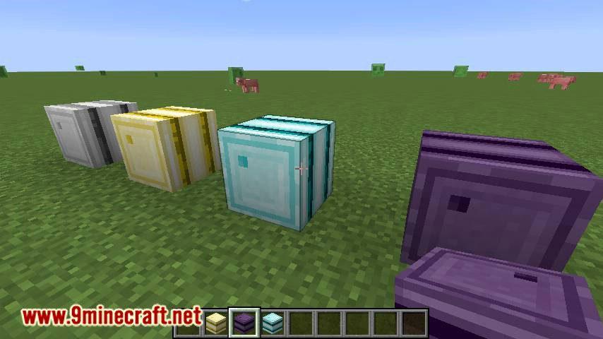 Iron Barrels mod for minecraft 02