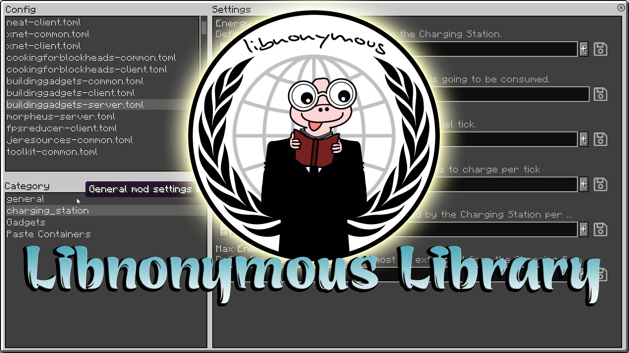 Libnonymous Library