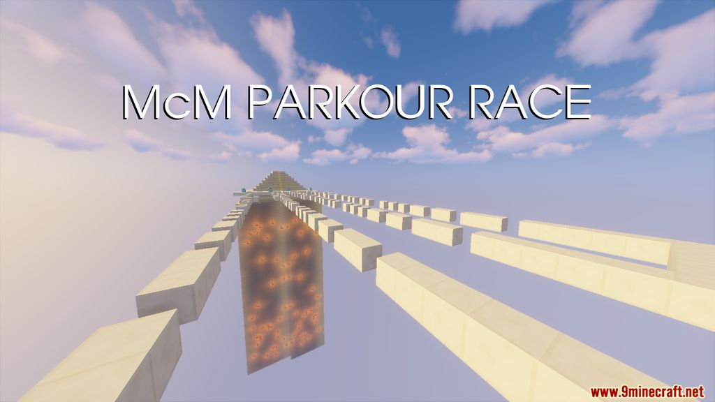 McM Parkour Race Map Thumbnail