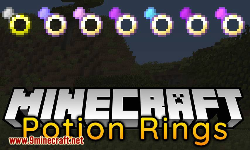 Potion Rings mod for minecraft logo