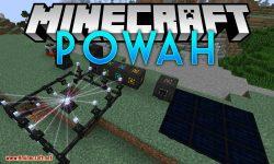 Powah mod for minecraft logo