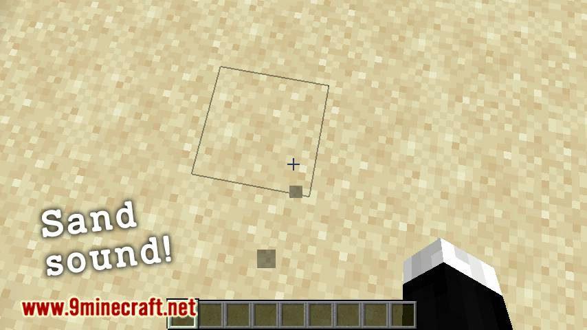 Presence Footsteps mod for minecraft 02