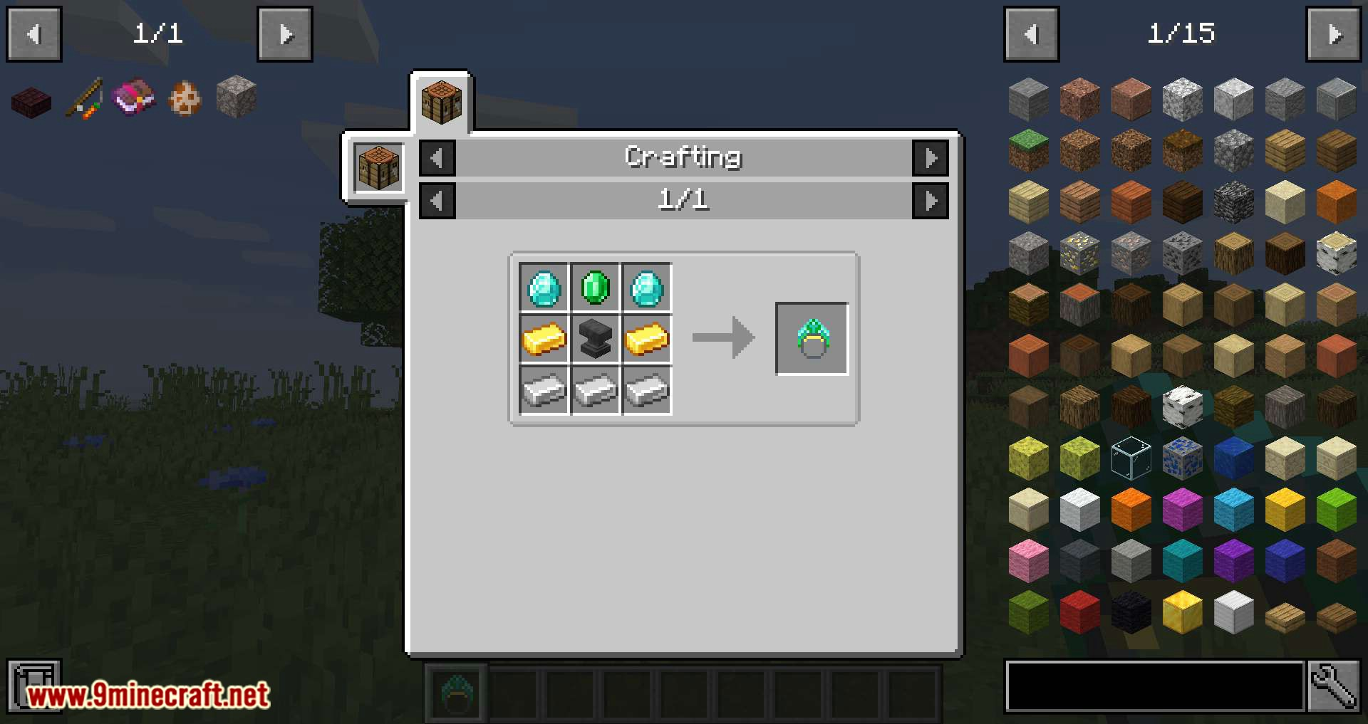 Ring of Repair mod for minecraft 03