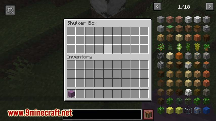 ShulkerBoxTooltip mod for minecraft 03