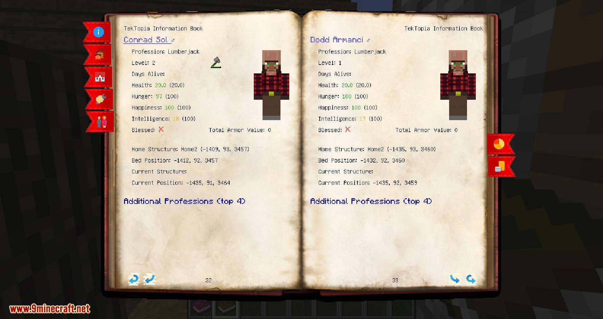 TekTopia Information mod for minecraft 08