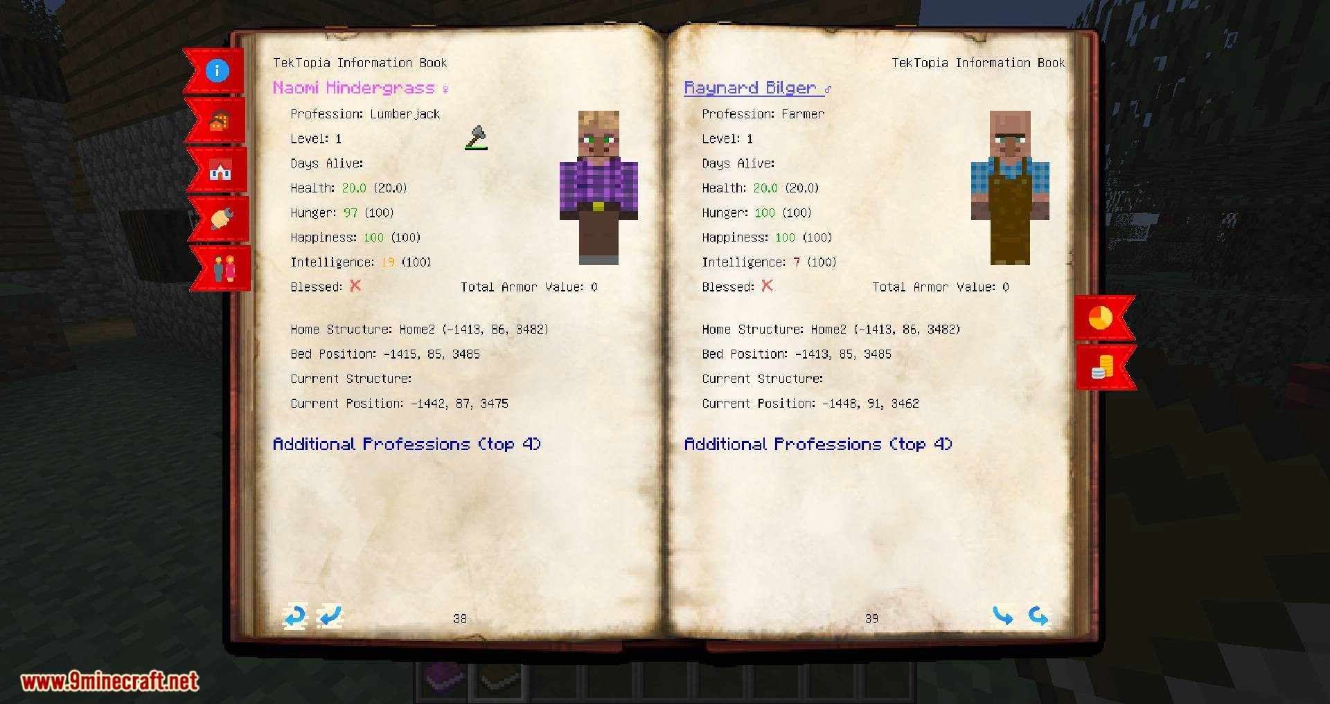 TekTopia Information mod for minecraft 11