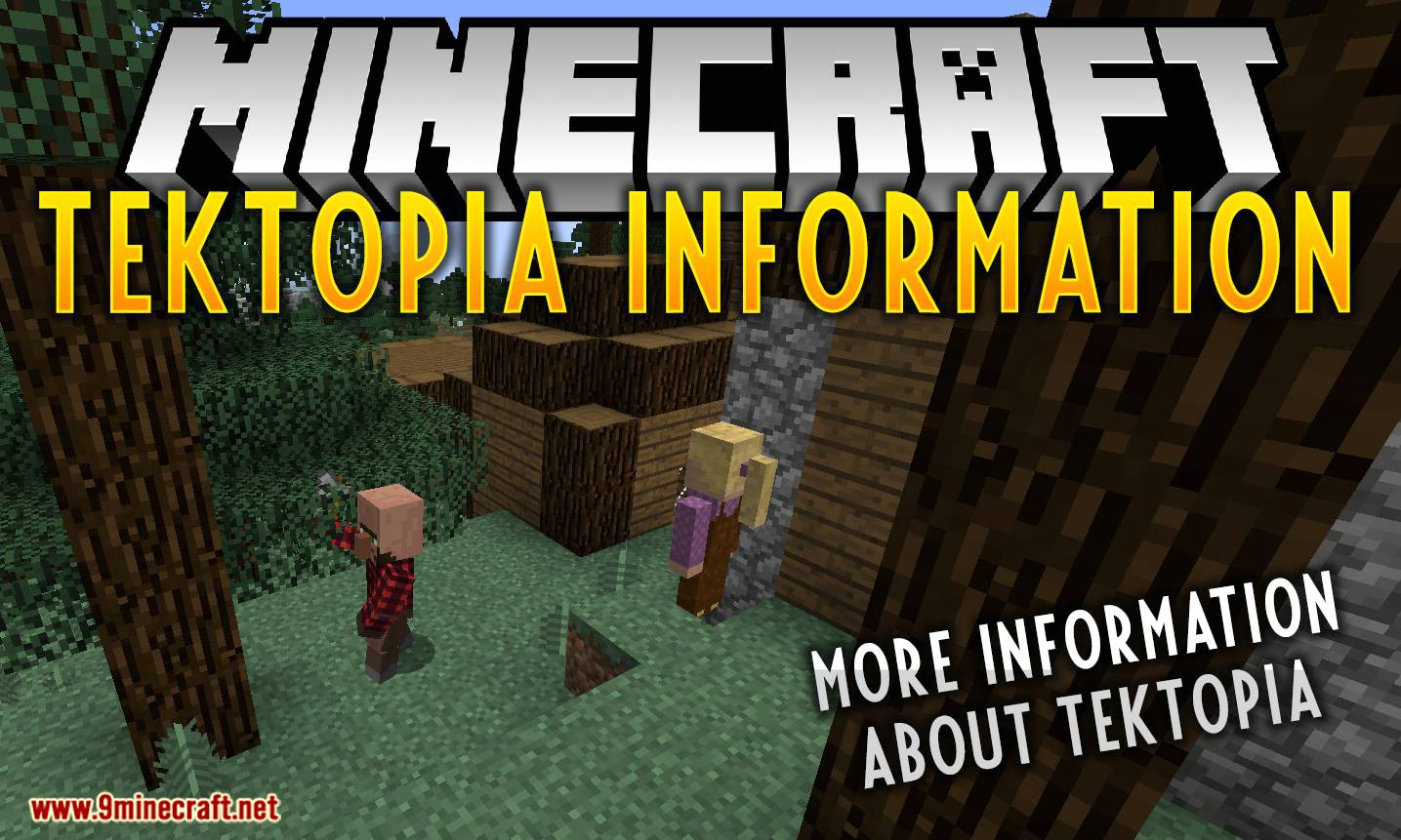TekTopia Information mod for minecraft logo