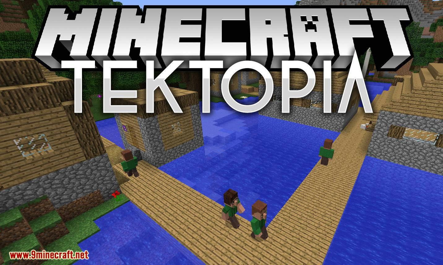 TekTopia mod for minecraft logo