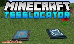 Tesslocator mod for minecraft logo