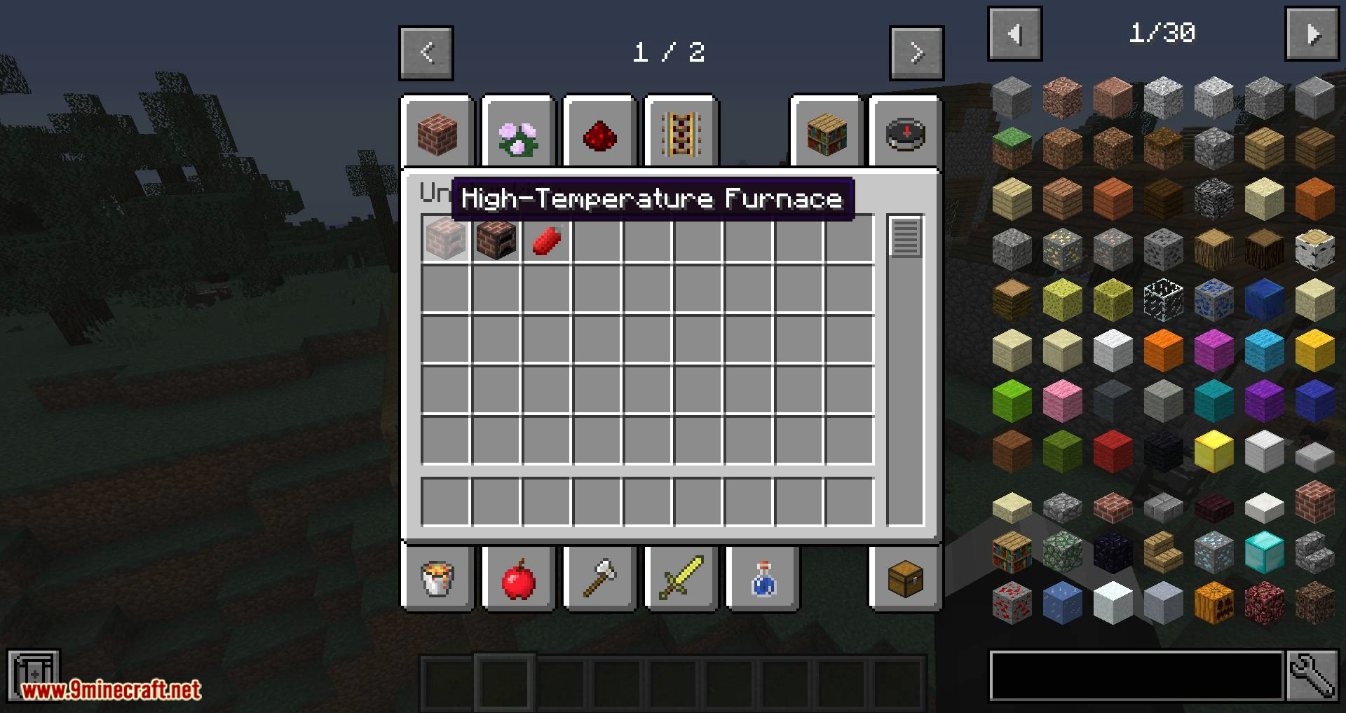 Unclunkify mod for minecraft 01