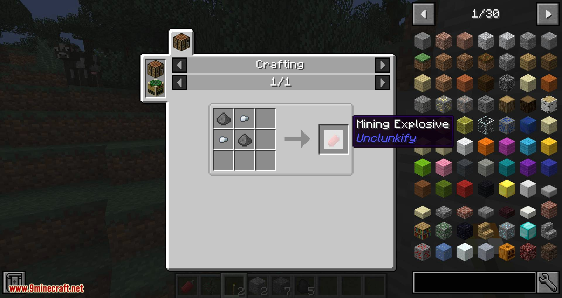 Unclunkify mod for minecraft 07