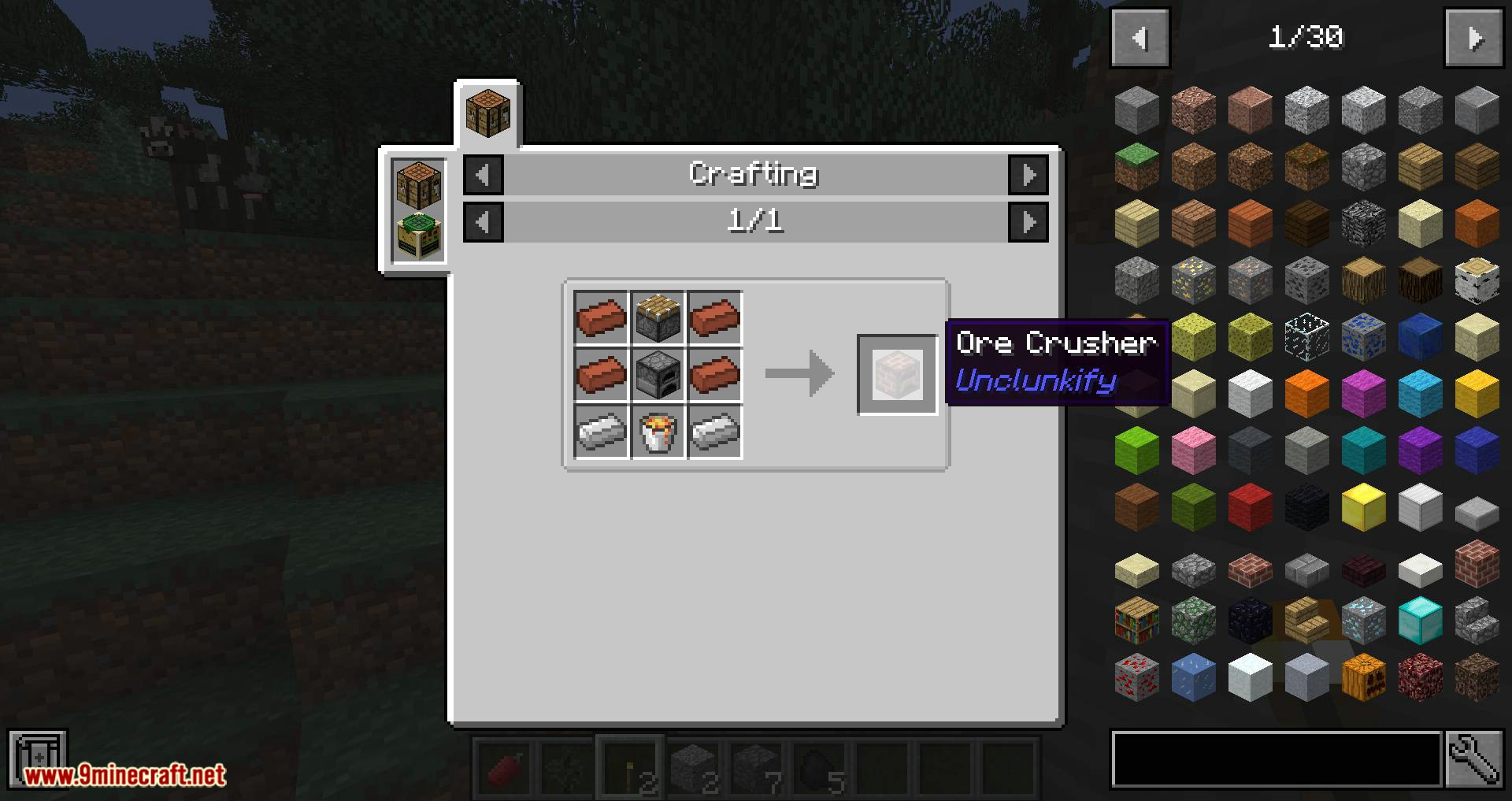 Unclunkify mod for minecraft 08