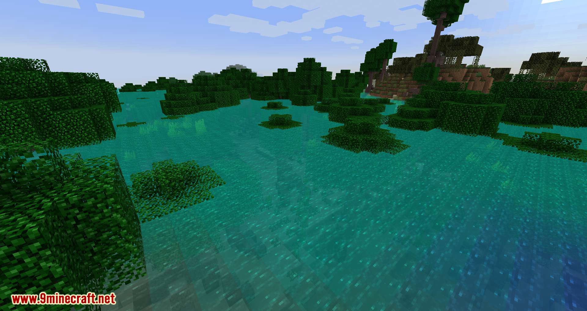 underwater biome mod minecraft ocean biomes 9minecraft torch tech features tree source screenshots