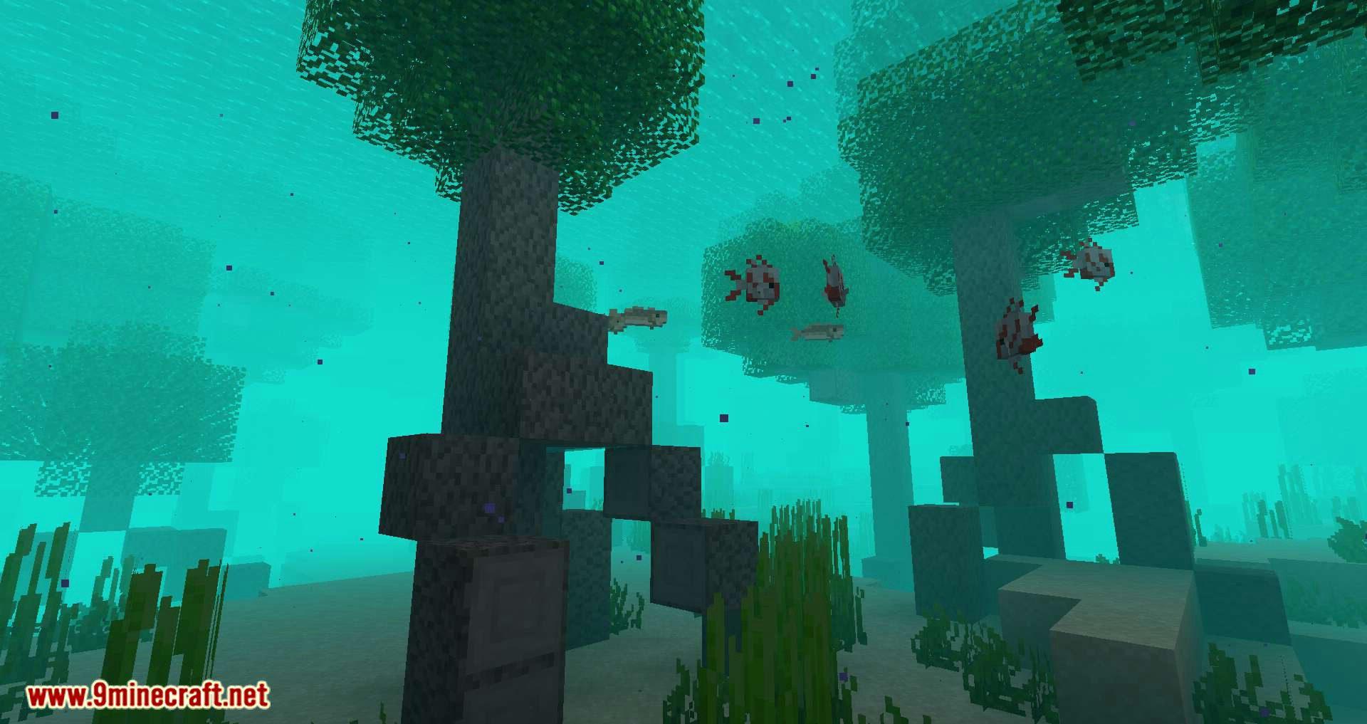 underwater mod biome minecraft biomes ocean torch 9minecraft source tech features tree