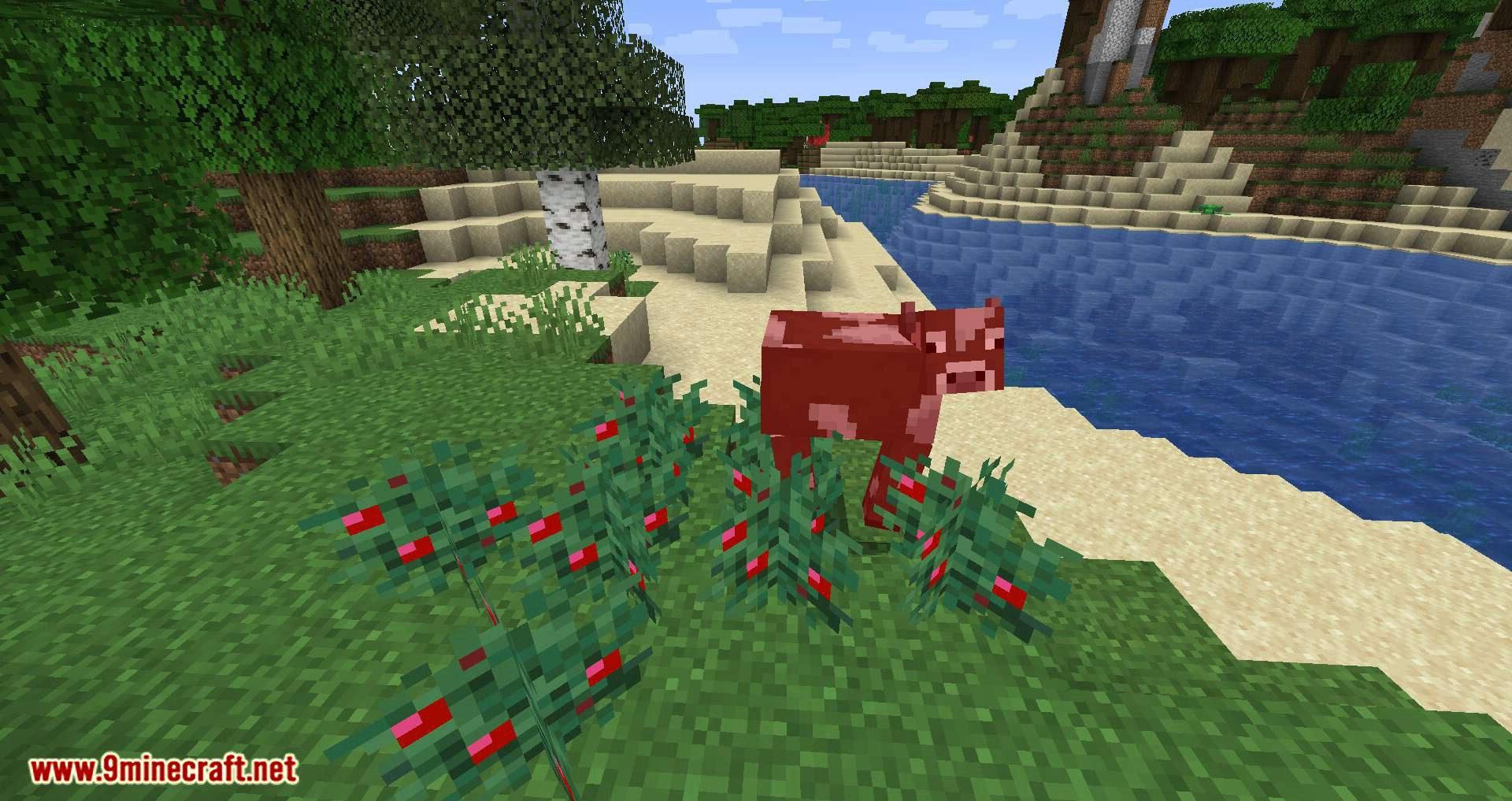 Walk Through Berries mod for minecraft 02