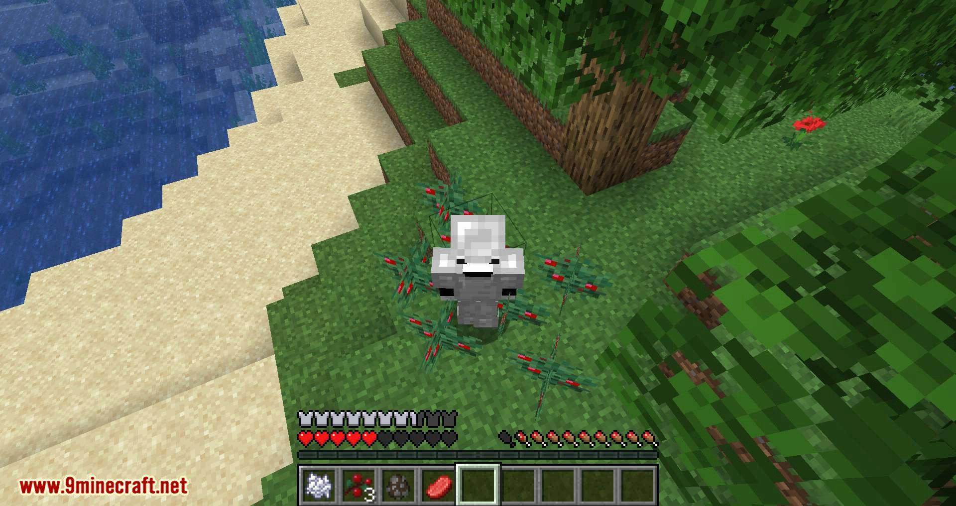 Walk Through Berries mod for minecraft 08