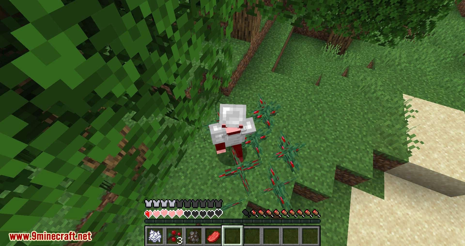 Walk Through Berries mod for minecraft 09