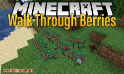 Walk Through Berries mod for minecraft logo