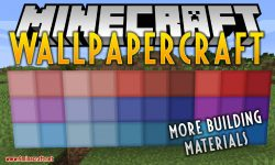 WallpaperCraft mod for minecraft logo