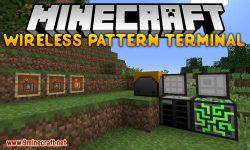 Wireless Pattern Terminal mod for minecraft logo