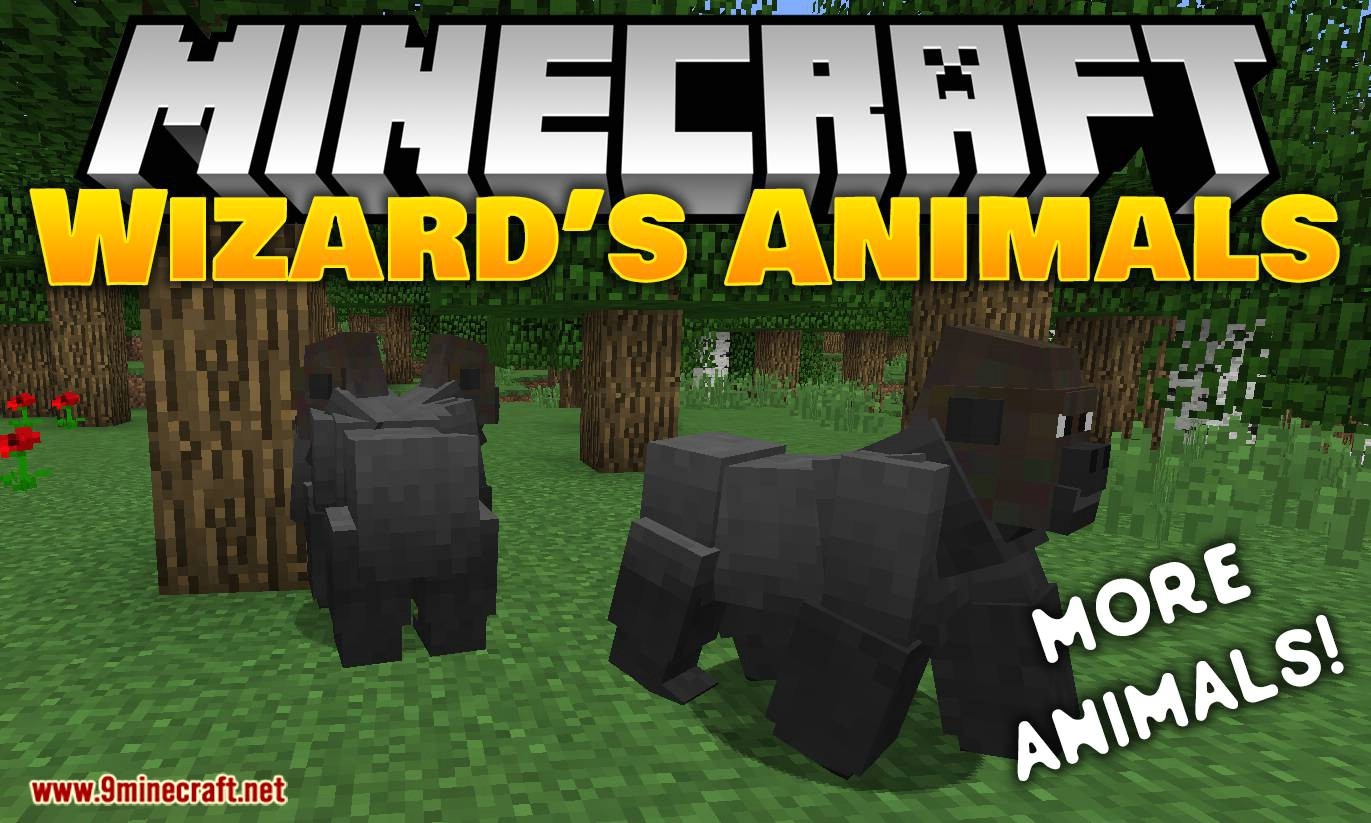 Wizard s Animals Mod 1 16 5/1 15 2 (Add 80  New Real Life Animals