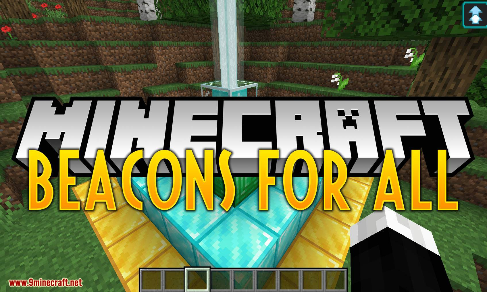 Beacons For All mod for minecraft logo