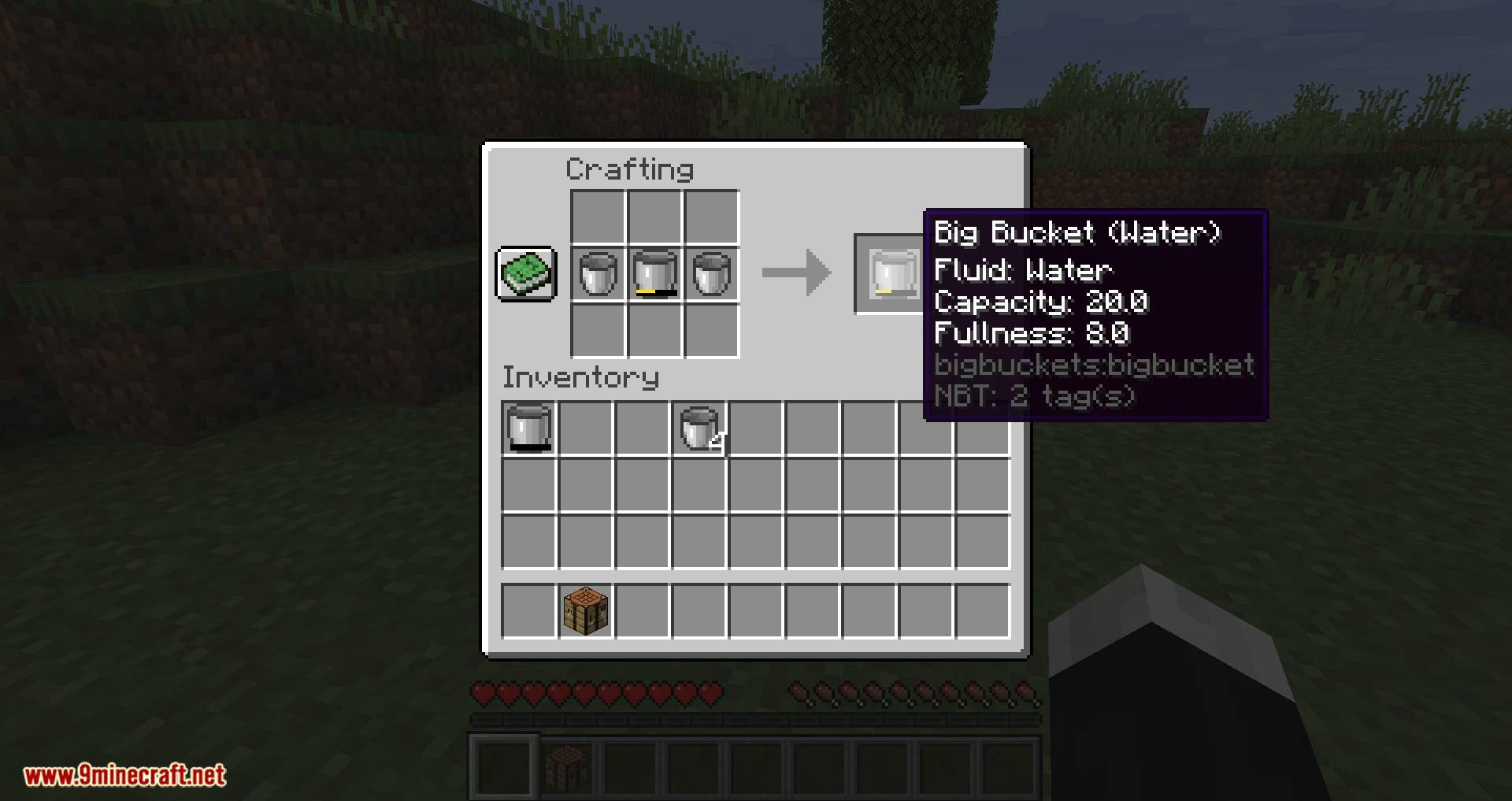 Big Buckets mod for minecraft 08