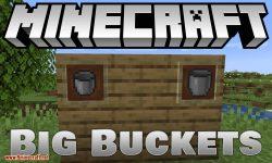 Big Buckets mod for minecraft logo