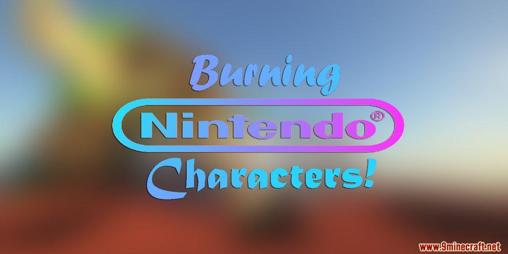 Burning Nintendo Characters Map Thumbnail