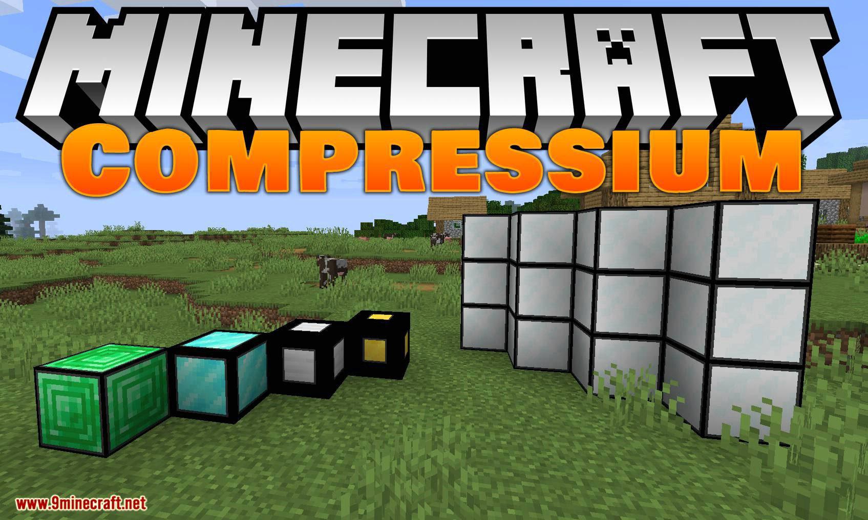 Compressium mod for minecraft logo