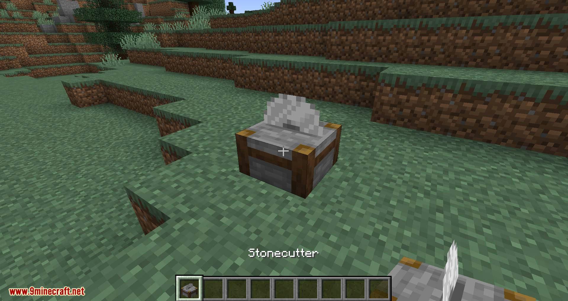 Dangerous Stone Cutter mod for minecraft 01