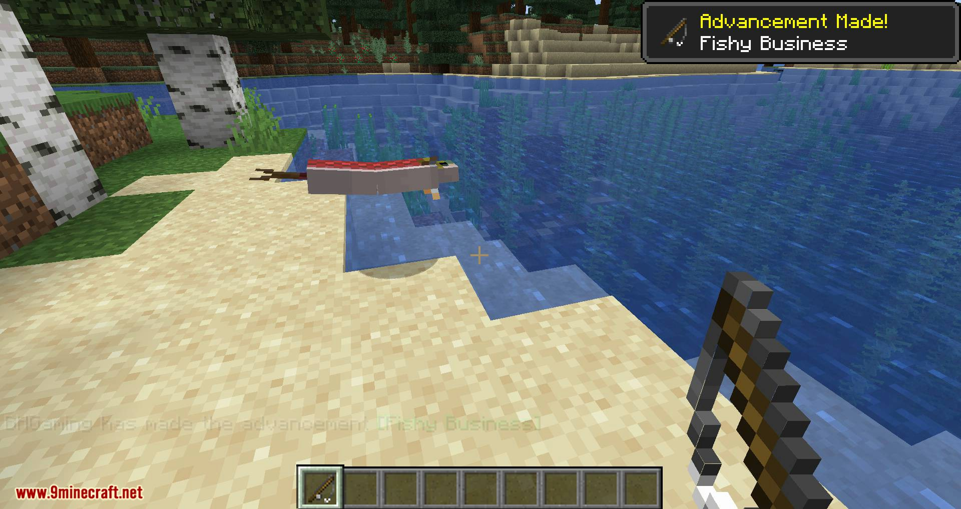 Fishing Real mod for minecraft 03